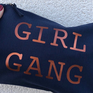 Limited Edition Girl Gang Navy Pouch