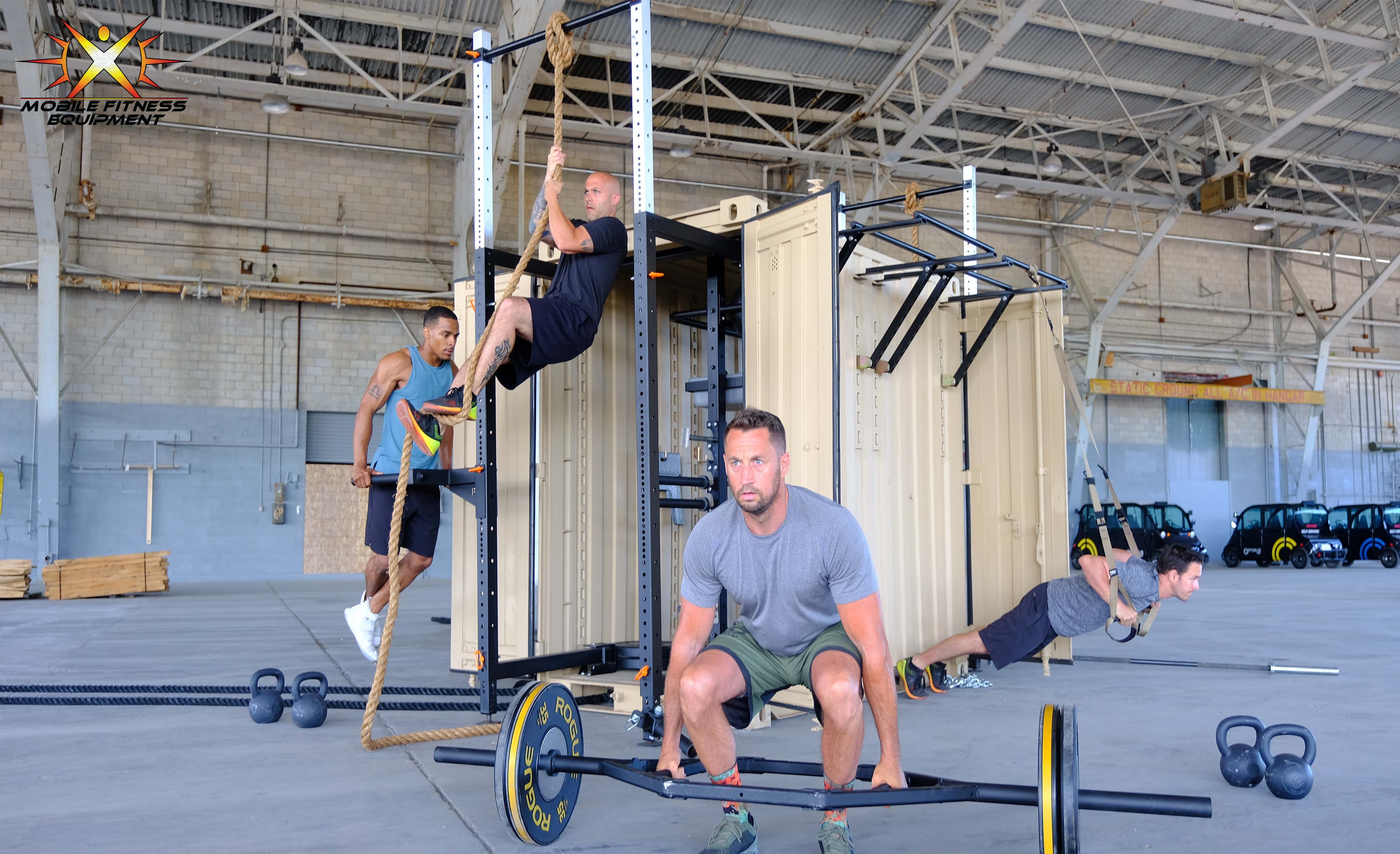 Tactical Fitness Solution Mfu Mobile Fitness Equipment