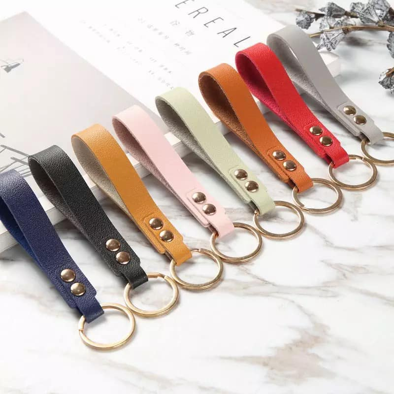 Leather Keychains (engraved)