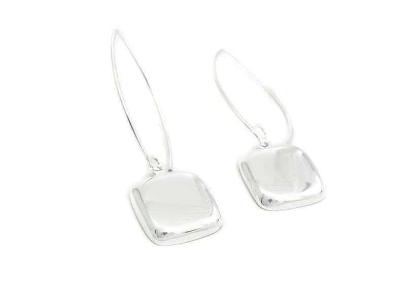 Fishhook Square Earrings