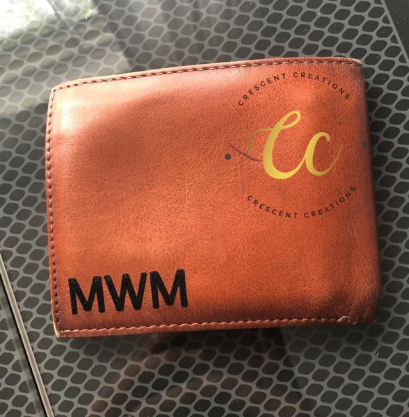 Engraved Men's Wallets