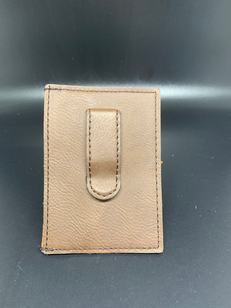 Leather Wallet Clip