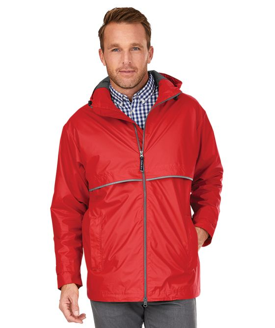 Mens Charles River Rain Jacket