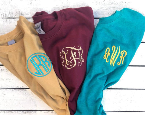 Pocket Monogram Tee