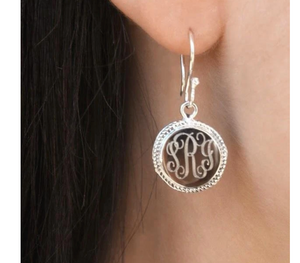 German Silver Rope Earrings