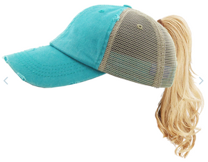 Kids Ponytail Hat