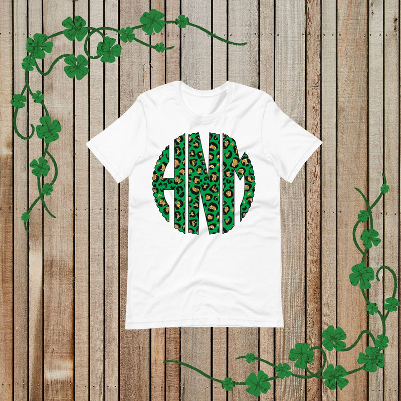 Monogrammed St. Patty's Day Shirt