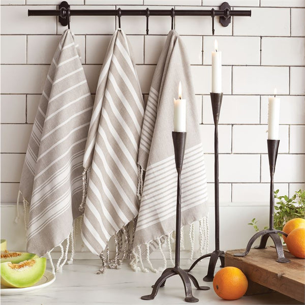 Turkish Hand Towels - Set of 3