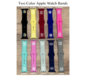 Two-Tone Apple Watch Bands
