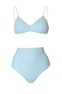 SS20 Shine Bra High Waisted