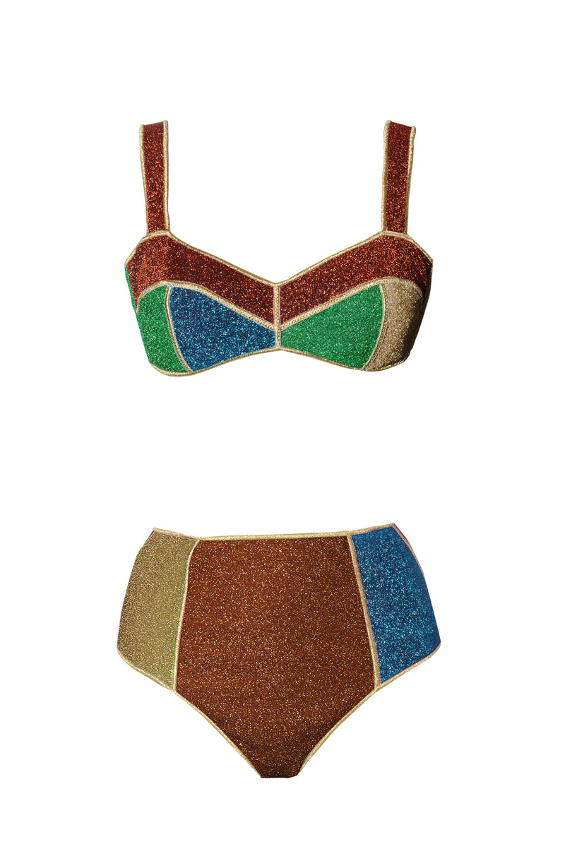 Resort 21 Lumière Coloré High Waisted Bra