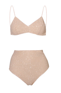Shine Bra High-Waisted