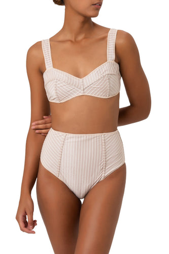SS20 Lines Bra High Waisted ⭑