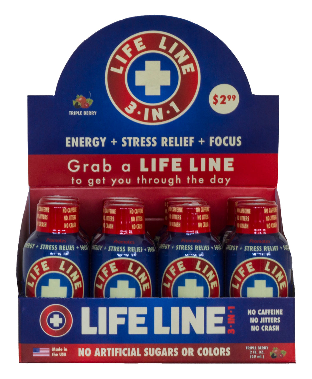 Life Line 3 IN 1 - 12 pack