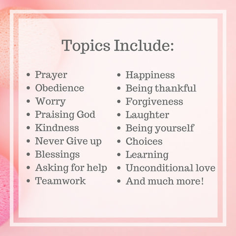 Devotional for children topics include