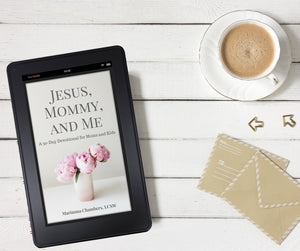 Jesus, Mommy, and Me: A 30-Day Devotional for Moms and Kids