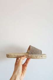Almond Black Espadrilles