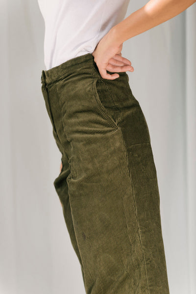 Green Carolina Trousers