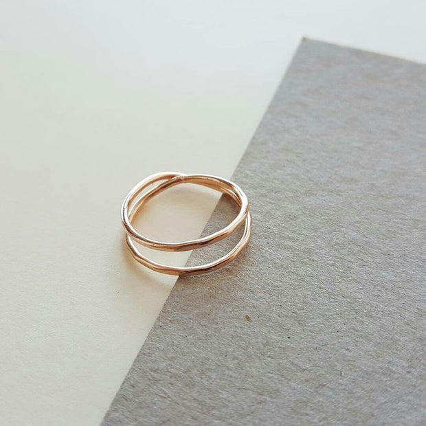 Slim double or triple ring