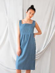 Lilia Denim Dress