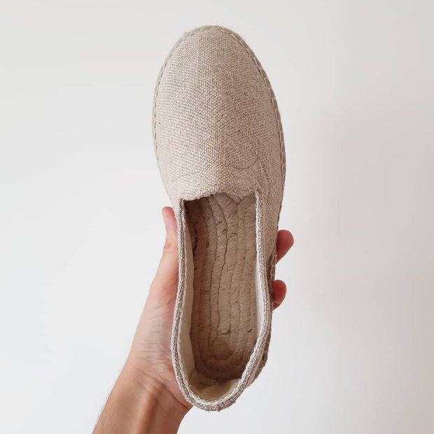 Linen Reese Loafers
