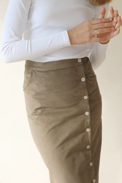 Ellie Corduroy Skirt