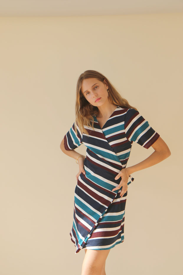 Elda Wrap Dress