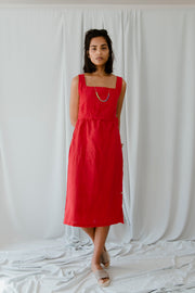 Lilia Red Dress