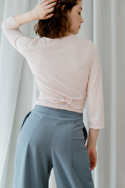 Pale Green Ume Trousers