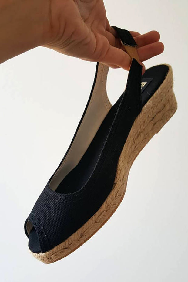 Marguerite Wedge Espadrilles