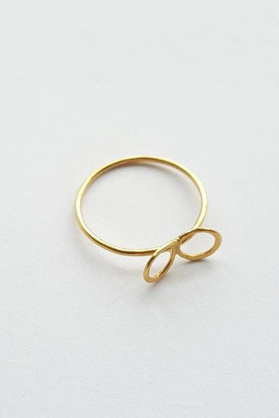 Yellow Gold Flower Rings