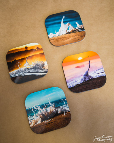 """Foamies"" Coaster Series"