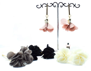 Floral Dangle Earrings - msuclassy