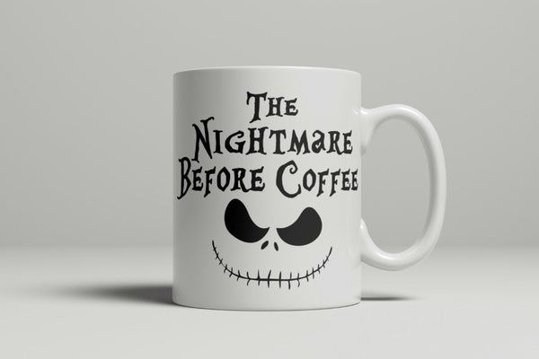 The Nightmare Before Coffee Mug