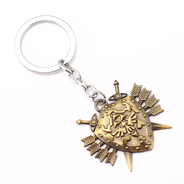 Triforce Shield Keyring