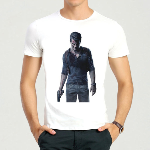 Uncharted 4 White T-shirt