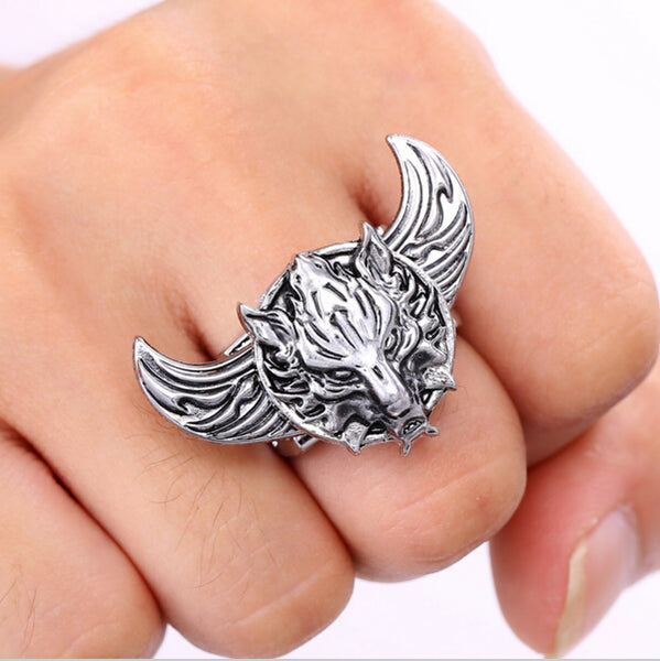 Final Fantasy Wolf Ring
