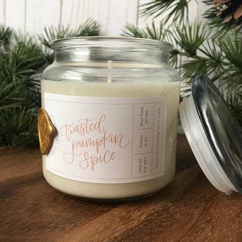Toasted Pumpkin Spice Candle