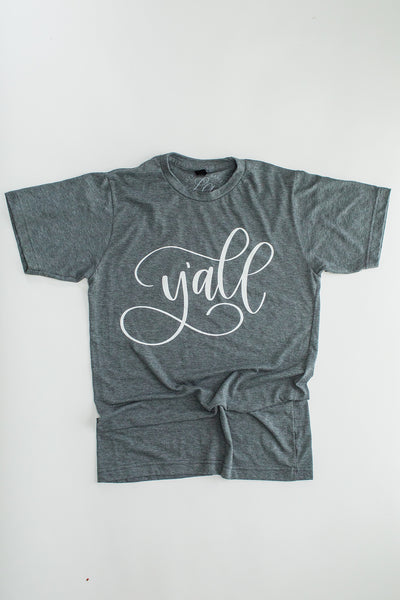 """Y'all"" Comfy T-Shirt"