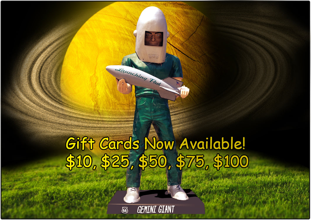 Launching Pad/Gemini Giant Store Gift Cards