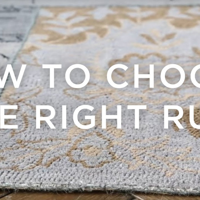 Tips On Picking The Right Pattern Rug