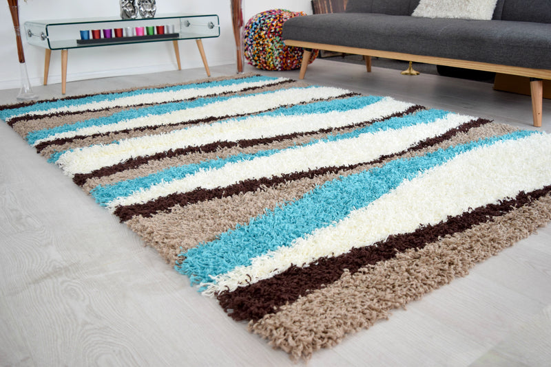 Patterned Shaggy Rugs