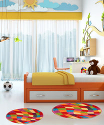 3D Circle Children Rug - Rug Masters