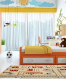 3D City Children Rug