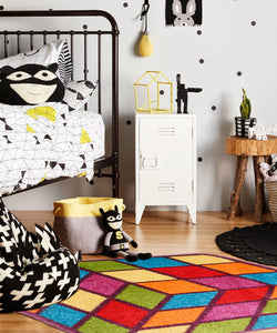 3D Cube Children Rug - Rug Masters