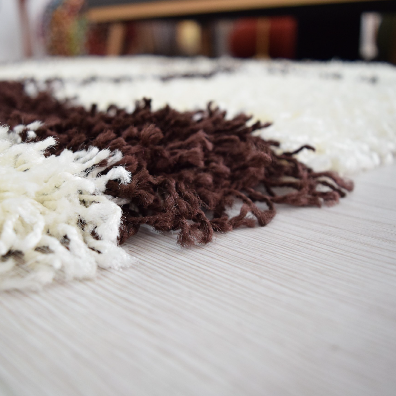 Cream Shaggy Rug | Rug Masters | Size Range Available