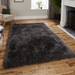 Black Shaggy Rug | Rug Masters | Range Of Sizes Available
