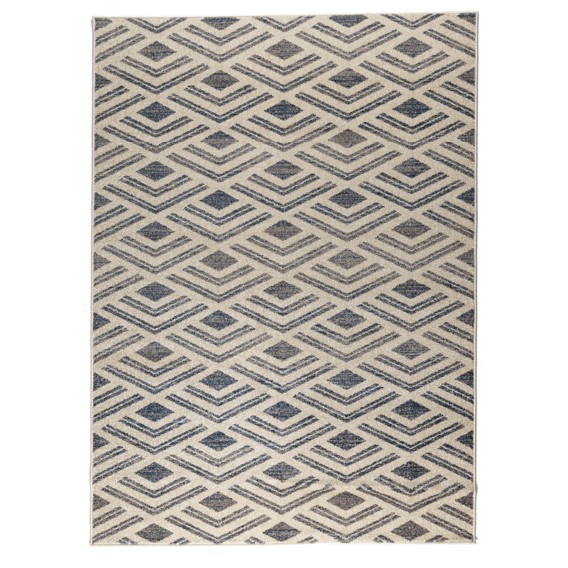 Ivory Chevron Rug | Rug Masters | Various Sizes Available