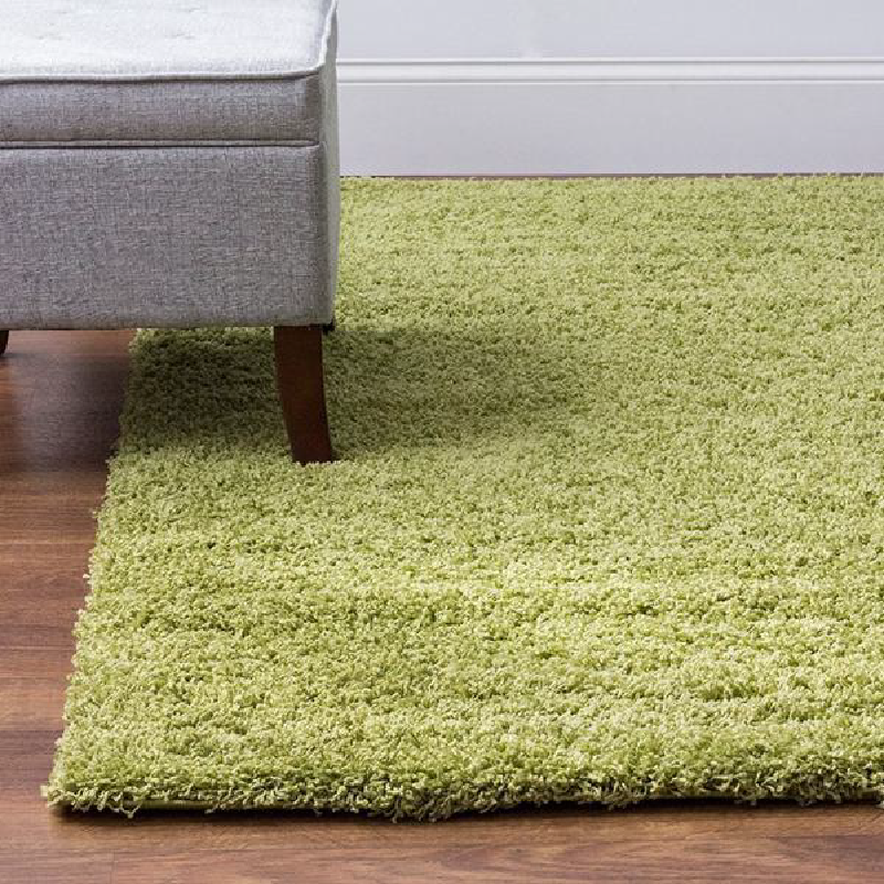 Green Shaggy Rug Rug Masters Range Of Sizes Available