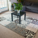 Grey Modern Faded Patchwork Rug - Texas | Rug Masters